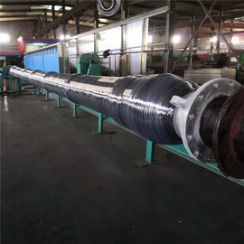 China Single Carcass Offshore Mainline Submarine Hose With Collars Big Diameter Type factory