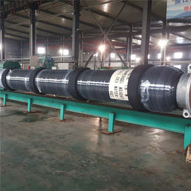 China One End Reinforced Submarine Hose With Collars Crude Oil Transport Usage factory