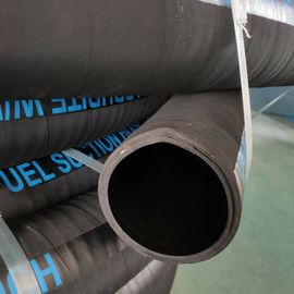 China Helix Steel Wire And Textile Cord Rubber Hose For Fuel Petro Gasoline Handling factory