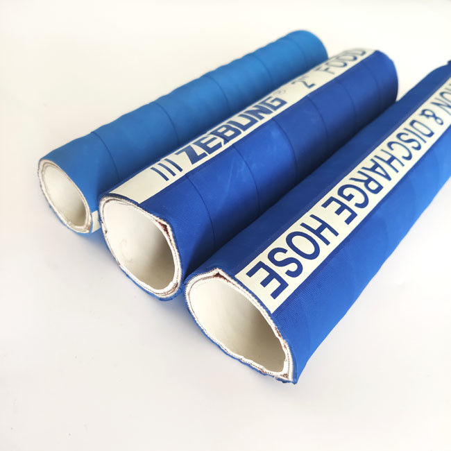 "4"" Flexible Food Grade Rubber Hose , Food Safe Water Hose Heat Resistant supplier"