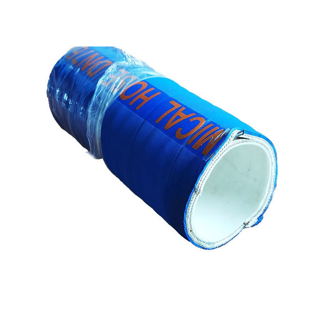 High Temperature UHMWPE Chemical Hose With EPDM Cover Customer Logo Accept 0